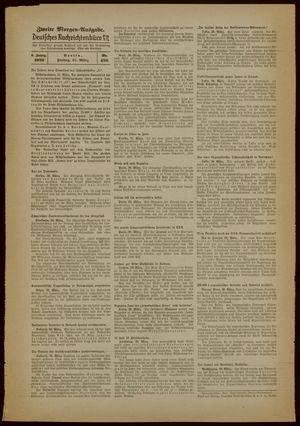 Deutsches Nachrichtenbüro vom 31.03.1939