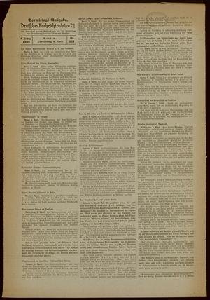 Deutsches Nachrichtenbüro vom 06.04.1939
