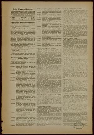 Deutsches Nachrichtenbüro vom 17.04.1939