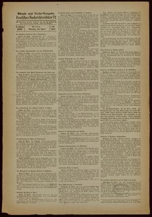 Deutsches Nachrichtenbüro vom 24.04.1939