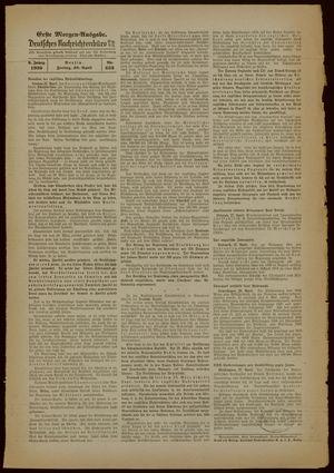 Deutsches Nachrichtenbüro vom 28.04.1939