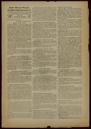 Deutsches Nachrichtenbüro vom 29.04.1939