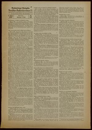 Deutsches Nachrichtenbüro vom 08.05.1939