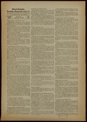 Deutsches Nachrichtenbüro vom 10.05.1939