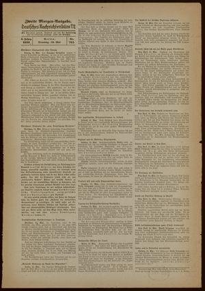 Deutsches Nachrichtenbüro vom 16.05.1939