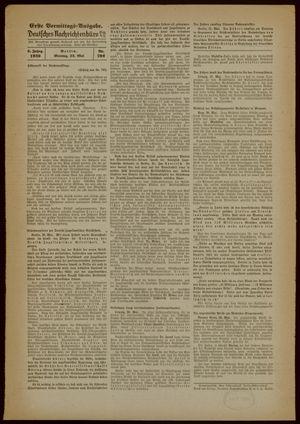 Deutsches Nachrichtenbüro vom 22.05.1939