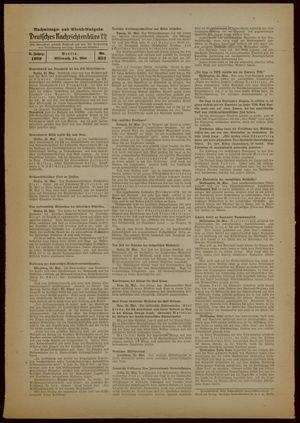 Deutsches Nachrichtenbüro on May 24, 1939