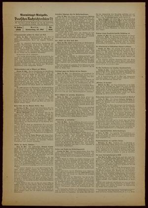 Deutsches Nachrichtenbüro vom 25.05.1939
