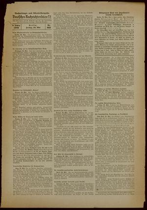 Deutsches Nachrichtenbüro vom 26.05.1939