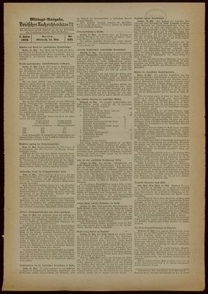 Deutsches Nachrichtenbüro vom 31.05.1939