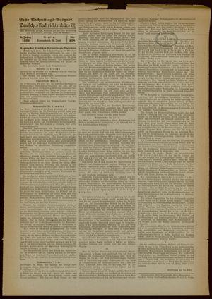 Deutsches Nachrichtenbüro vom 03.06.1939