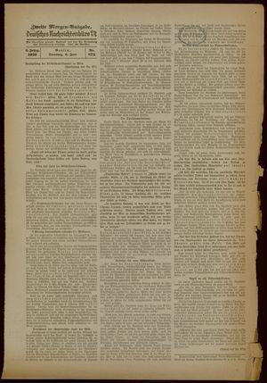 Deutsches Nachrichtenbüro vom 06.06.1939