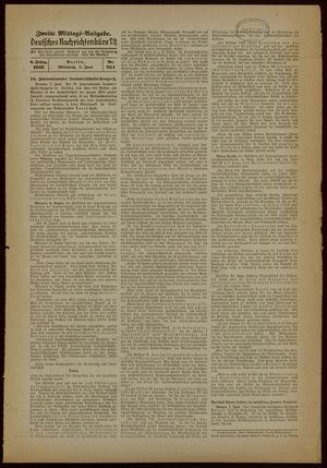 Deutsches Nachrichtenbüro vom 07.06.1939