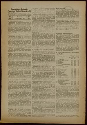 Deutsches Nachrichtenbüro vom 08.06.1939