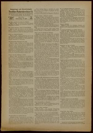 Deutsches Nachrichtenbüro vom 15.06.1939