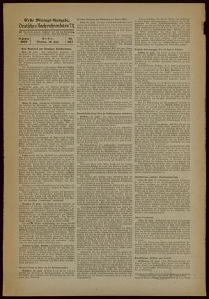 Deutsches Nachrichtenbüro vom 19.06.1939