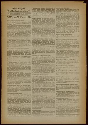 Deutsches Nachrichtenbüro vom 30.08.1939