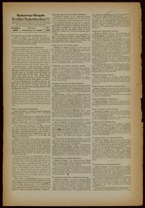 Deutsches Nachrichtenbüro vom 31.08.1939