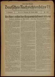 Deutsches Nachrichtenbüro
