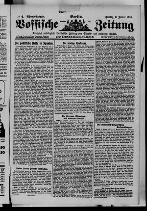 Vossische Zeitung vom 03.01.1913