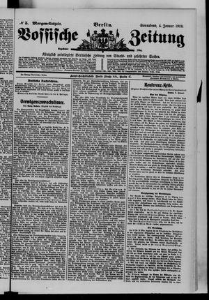 Vossische Zeitung vom 04.01.1913