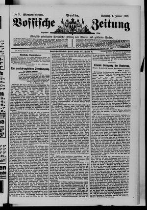 Vossische Zeitung vom 05.01.1913
