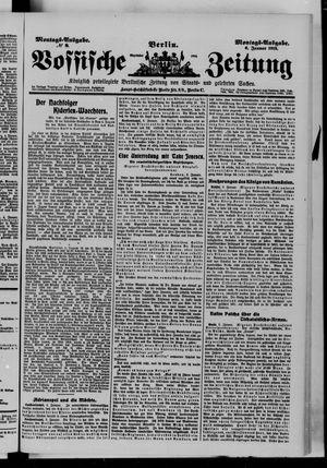 Vossische Zeitung vom 06.01.1913