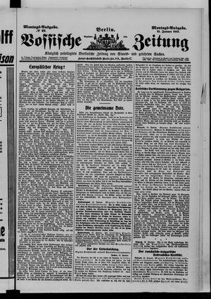 Vossische Zeitung vom 13.01.1913