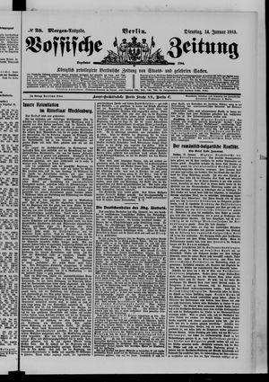 Vossische Zeitung vom 14.01.1913