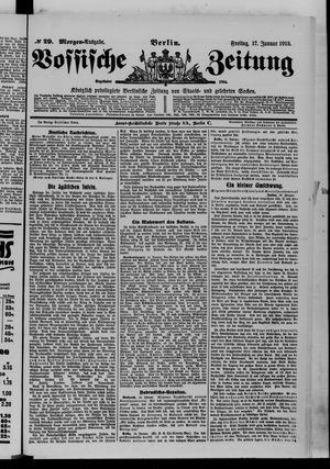 Vossische Zeitung vom 17.01.1913