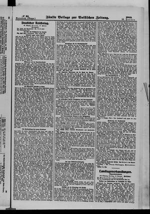 Vossische Zeitung vom 18.01.1913