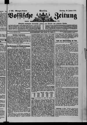 Vossische Zeitung vom 19.01.1913
