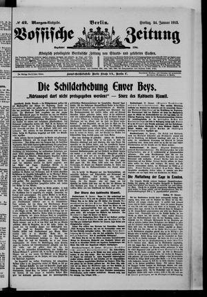 Vossische Zeitung vom 24.01.1913