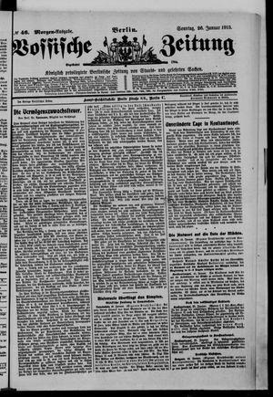 Vossische Zeitung vom 26.01.1913