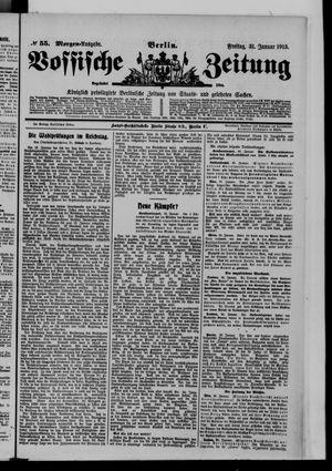 Vossische Zeitung on Jan 31, 1913