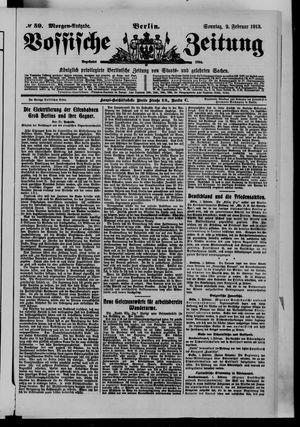 Vossische Zeitung vom 02.02.1913