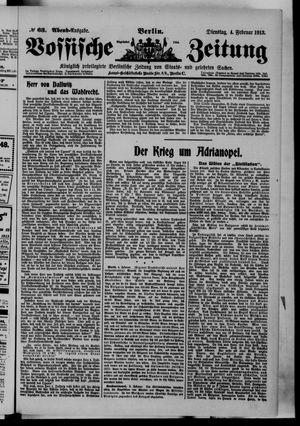 Vossische Zeitung on Feb 4, 1913