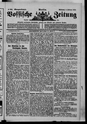 Vossische Zeitung vom 05.02.1913