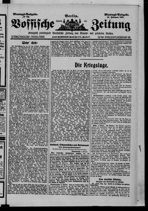 Vossische Zeitung vom 10.02.1913
