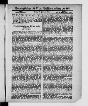 Vossische Zeitung vom 16.02.1913