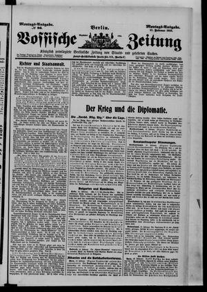 Vossische Zeitung vom 17.02.1913