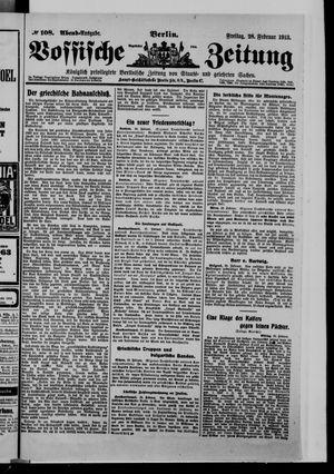 Vossische Zeitung vom 28.02.1913