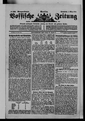 Vossische Zeitung vom 01.03.1913