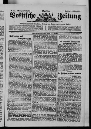Vossische Zeitung vom 02.03.1913
