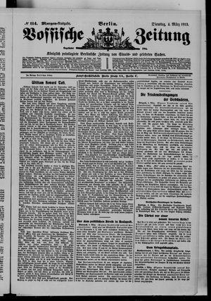 Vossische Zeitung vom 04.03.1913