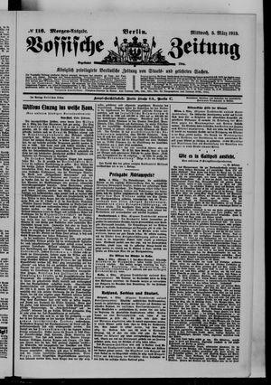 Vossische Zeitung vom 05.03.1913