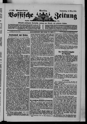 Vossische Zeitung vom 06.03.1913