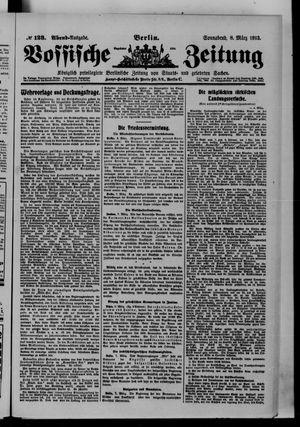 Vossische Zeitung vom 08.03.1913