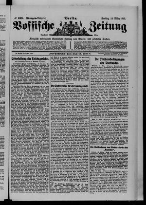 Vossische Zeitung vom 14.03.1913