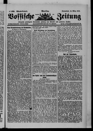Vossische Zeitung vom 15.03.1913